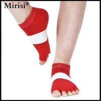 PRE SALES 40 Off 5 Pairs Lot 100 Combed Cotton Comfortable Non Slip Toeless Yoga Socks