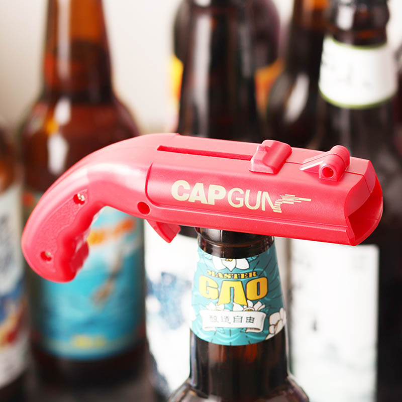 Bottle-Opener Starter Beer-Bar Bullet-Shot Launch Unmarked Creative