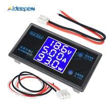 Voltímetro Digital de CC 0-50V, 5A, 250W, amperímetro, medidor de voltaje, medidor de corriente, Detector de potencia, Monitor, voltímetro, pantalla LCD