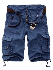 BSETHLRA Cargo Shorts Camouflage Men Cotton Short Pants