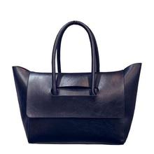 2017 pu-leder umhängetasche weiblich große handtasche frauen schwarz farbe totes taschen frau hobos Top-Griff Taschen Bolsas Feminina sac