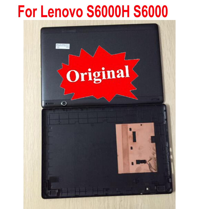 Original Best Quality Back Battery Cover Housing Door For Lenovo S6000H S6000 3G Dual Card Or Wifi Signal Card Version Rear Case