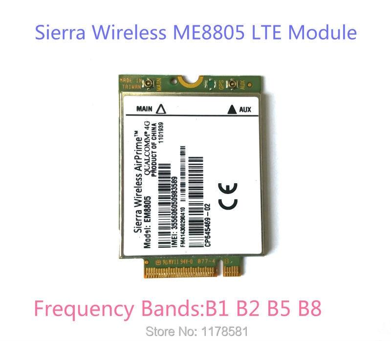 Sierra Wireless AirPrime EM8805 WWAN 4G Card LTE Module WWAN - HSPA+ NGFF telit ln930 nrr39 ngff module card for dell wireless wifi dw5810e venue 11 pro 4g lte dc hspa wwan 4g high speed network card