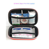 First aid charter portable simple version of the small medical emergency kit home first aid supplies EVA package medicine packag