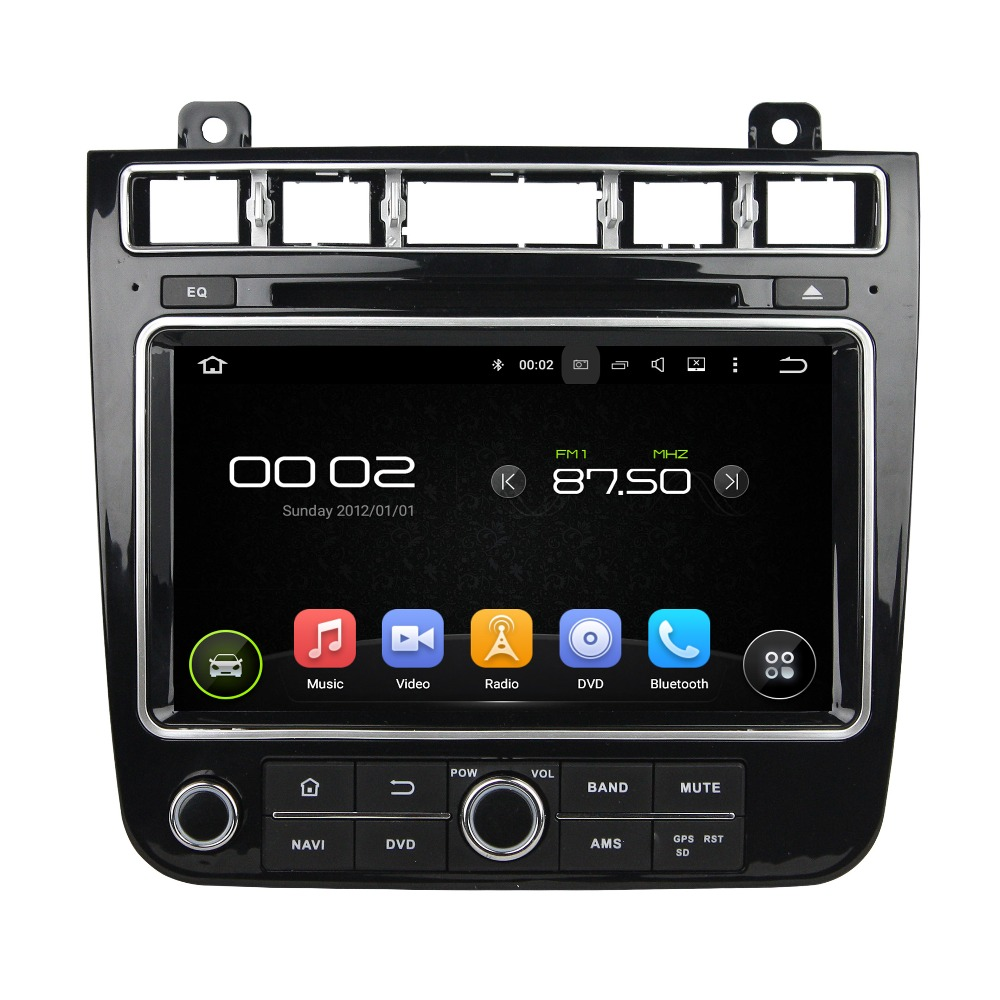 8 Android 6.0 Octa core Car Multimedia Player For VW TOUAREG 2015 2016 GPS Navigation Car Video Audio Stereo Free MAP CANBUS