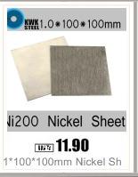 1*100*200mm Folha de Níquel Puro Ni200 Níquel