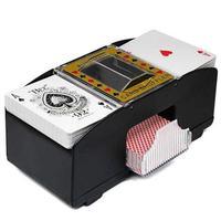 Настольные игры покерные игровые карты деревянные электрические автоматические Shuffler