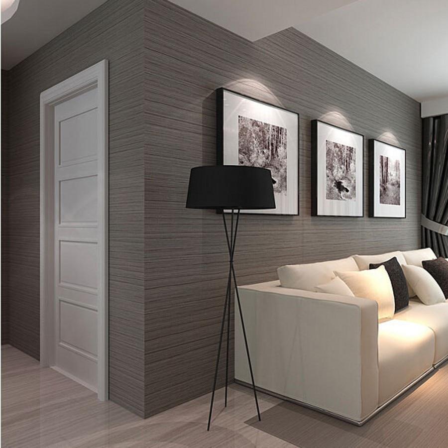 beibehang home decor striped wallpaper modern vinyl waterproof papel de parede 3d wall paper ...