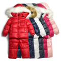 TZ262,Free Shipping Children Winter Clothing Set Boy's Ski Suit Kids Windproof Warm Sets 2pcs Jackets+Suspenders Trousers Retail