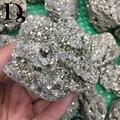 350-550g Natürliche Pyrit Grobe Raw Fools Gold Mineral Kristalle Erz Metall Mineralien Probe Für Schneiden  tumbling Polieren
