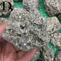 350 550g Natural Pyrite Rough Raw Fools Gold Mineral Crystals Ore Metal Minerals  Specimen For Cutting Tumbling Polishing Stones     -