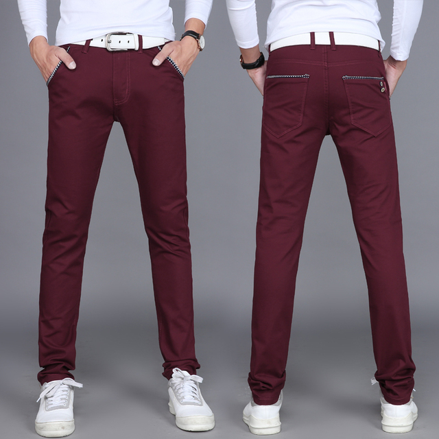 2017 Summer thin models men's casual pants casual trousers 8 colors available
