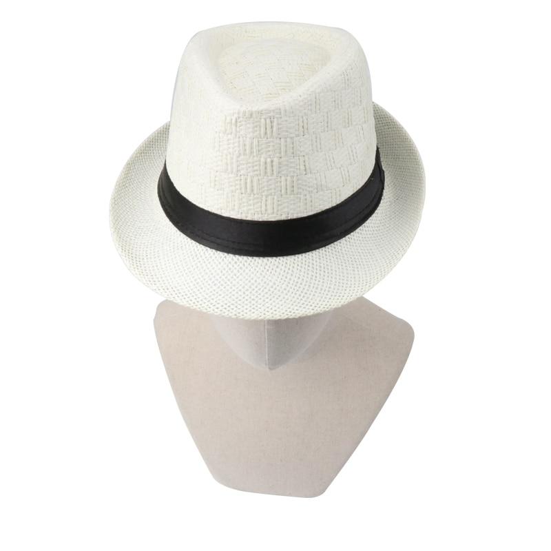 18 Summer Cowboy Hat Straw Hat Cappello Leisure Beach Visor Women Hat Hoeden Voor Mannen chapeau de paille femme Hats Caps Men 4