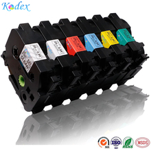 6Pack 24mm Laminated P touch Label Tapes compatible Brother P-touch TZ TZe TZ151 TZ251 TZ451 TZ551 TZ651 TZ751 TZ TZe label tape