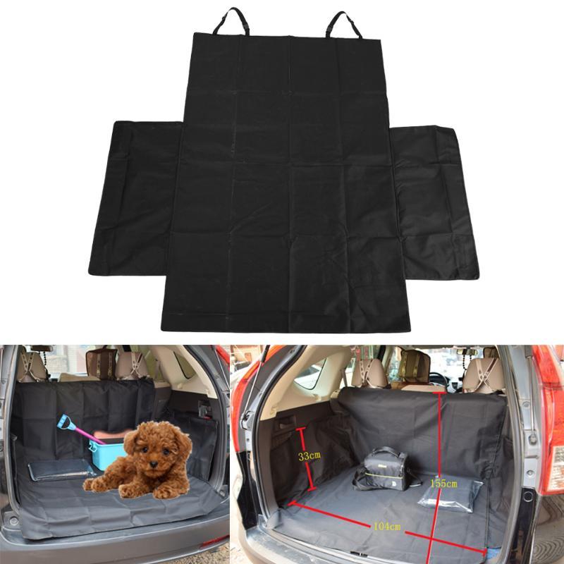 Fashion Black Waterproof Pet Car Mat Oxford Cloth Pet Pad Dogs Car Mat Pads SUV Dog Car Trunk Mat Dog Car Seat Cover
