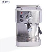 1pc 19 bar máquina de café expresso  mais popular semiautomática máquina de café expresso  pressão máquina de café expresso