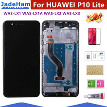 5.2 Inch LCD With Frame For HUAWEI P10 Lite Lcd Display Screen WAS-LX1 WAS-LX1A WAS-LX2 WAS-LX3
