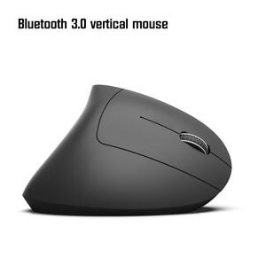 Image 3 - HXSJ neue Bluetooth vertikale maus ergonomie 800/1600/2400DPI prävention maus hand spiel büro mäuse Pc notebook zubehör