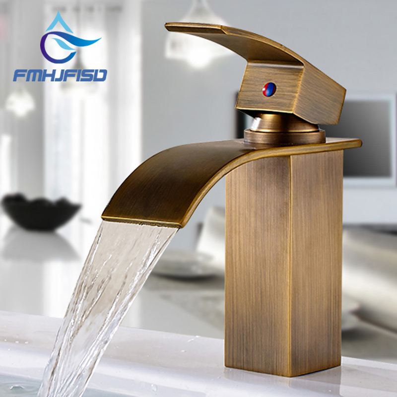 Free Shipping Bathroom Faucet with Single Handle & Hot Cold Water Basin Water Taps цена и фото