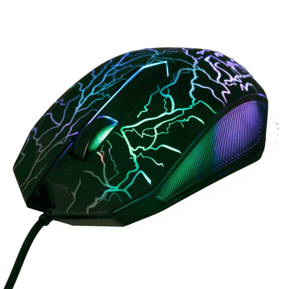 Wired Gaming Game Mouse Pro Gamer Computer Mice 3200DPI LED Optical 3 Buttons 3D USB For PC Adjustable USB Wired Gaming Mouse