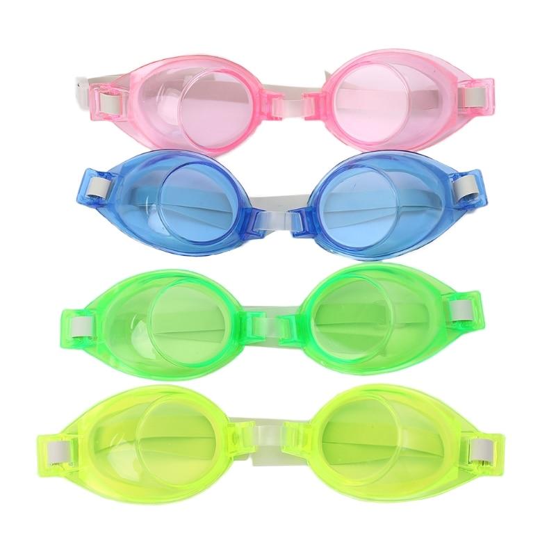 Kids Children Silicone Waterproof Anti Fog Swim Pool Swimming Goggles Glasses
