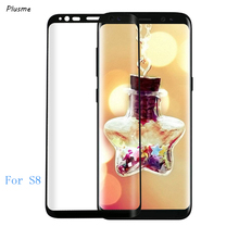 Screen Protector for Samsung Galaxy S8 3D Full Coverage Curved Edge Ultra Clear Scratch Proof Tempered Glass