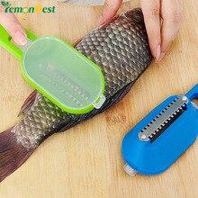 LemonBest креативный многофункциональный инструмент для дома, кухни и сада, инструмент для приготовления пищи, удобный инструмент для очистки, скребка, чешуя, для уничтожения рыбы, с ножом, машина