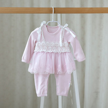 Newborn Baby Rompers Autumn Style Baby Girls Clothes Lace Infant Jumpsuits Ropa Bebes Baby Girl Brand