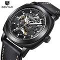 Часы BENYAR мужские  Роскошные  брендовые  механические  модные  деловые  автоматические  стальные  светящиеся  водонепроницаемые