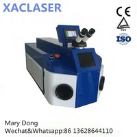 100W 200W Spot Jewelry Laser Welding Machine for electronics, machinery, automobile on hot selling