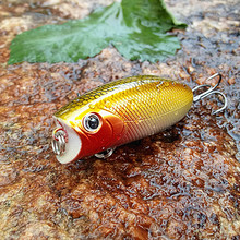 1pc 11g 5.5cm Popper Fishing Lure Pesca Peche Tackle Wobblers Fish Hard Lures Topwater Crankbait Isca Artificial Articulos