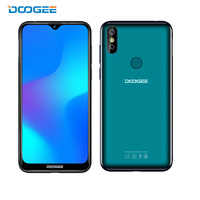 2019 new Doogee Y8 Smartphone 6.1FHD 19:9 Display 3400mAh MTK6739 Quad Core 3GB RAM 16GB ROM Android 9.0 4G LTE Mobile Phone