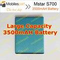 Mstar S700 Bateria 3500 mAH 100% Original Back-up de Bateria de Substituição para Mstar S700 em estoque Frete Grátis