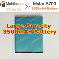 Mstar S700 Battery 3500mAH 100% Original  Back-up Replacement Battery for Mstar S700 in stock Free Shipping