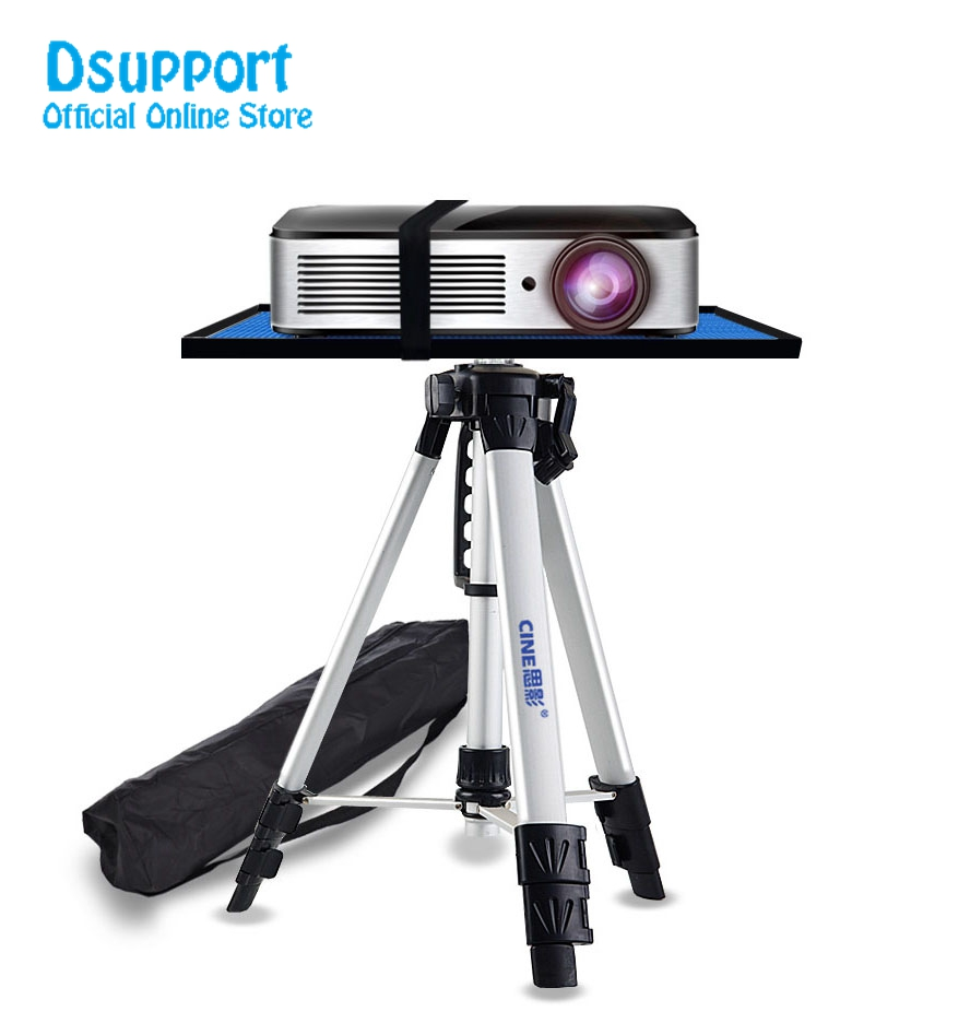 все цены на PB1200 High Quality Universal Portable Free Lifting Aluminum Projector Tripod Stand With Tray онлайн