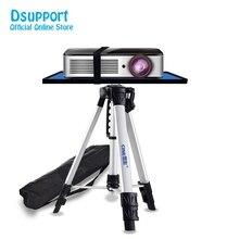 PB1200 Yüksek Kaliteli Evrensel Taşınabilir Serbest Kaldırma Alüminyum Projektör tripod standı Tepsi Ile