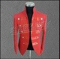 ГОРЯЧАЯ! мужская новая Мода блестками куртка Бар ночной клуб DJ DS под председательством этап певица костюмы, выполняющие blazer пальто