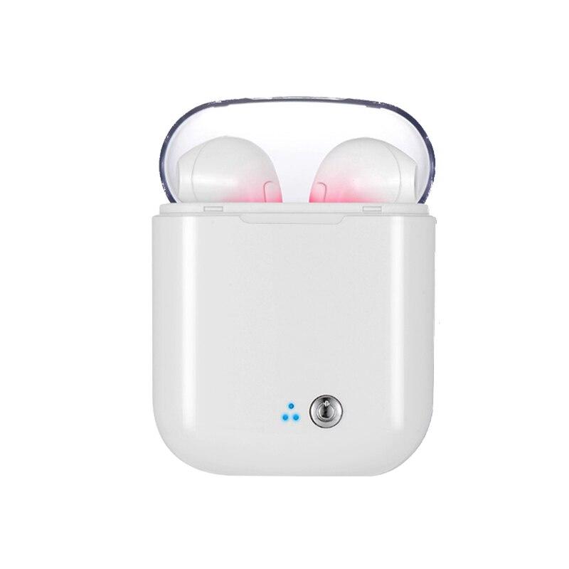 Ture I7s Tws auriculares Bluetooth auriculares portátil inalámbrico Mini auriculares con micrófono deporte auriculares Bluetooth estéreo Bass aire cápsulas