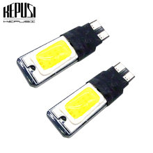 2pcs Canbus LED T10 W5W COB Car Instrument Panel lamp Backup Bulb 194 168 Clearance light License Plate Bulb Parking light white стоимость