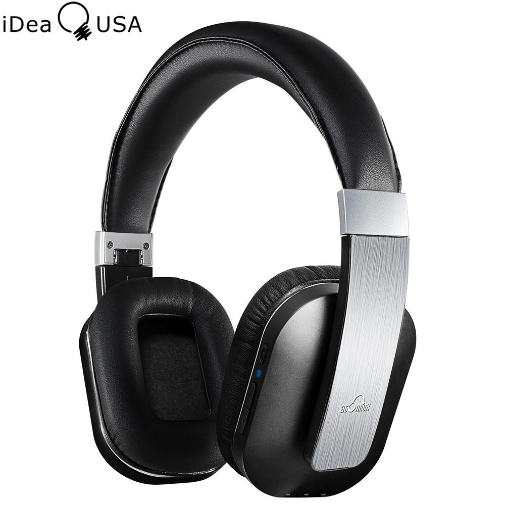 Prix pour IDeaUSA S204 Pliable Sans Fil Bluetooth Casque de Réduction Du Bruit Sur L'oreille Casque Bluetooth 4.0 + EDR Apt-X avec Microphone