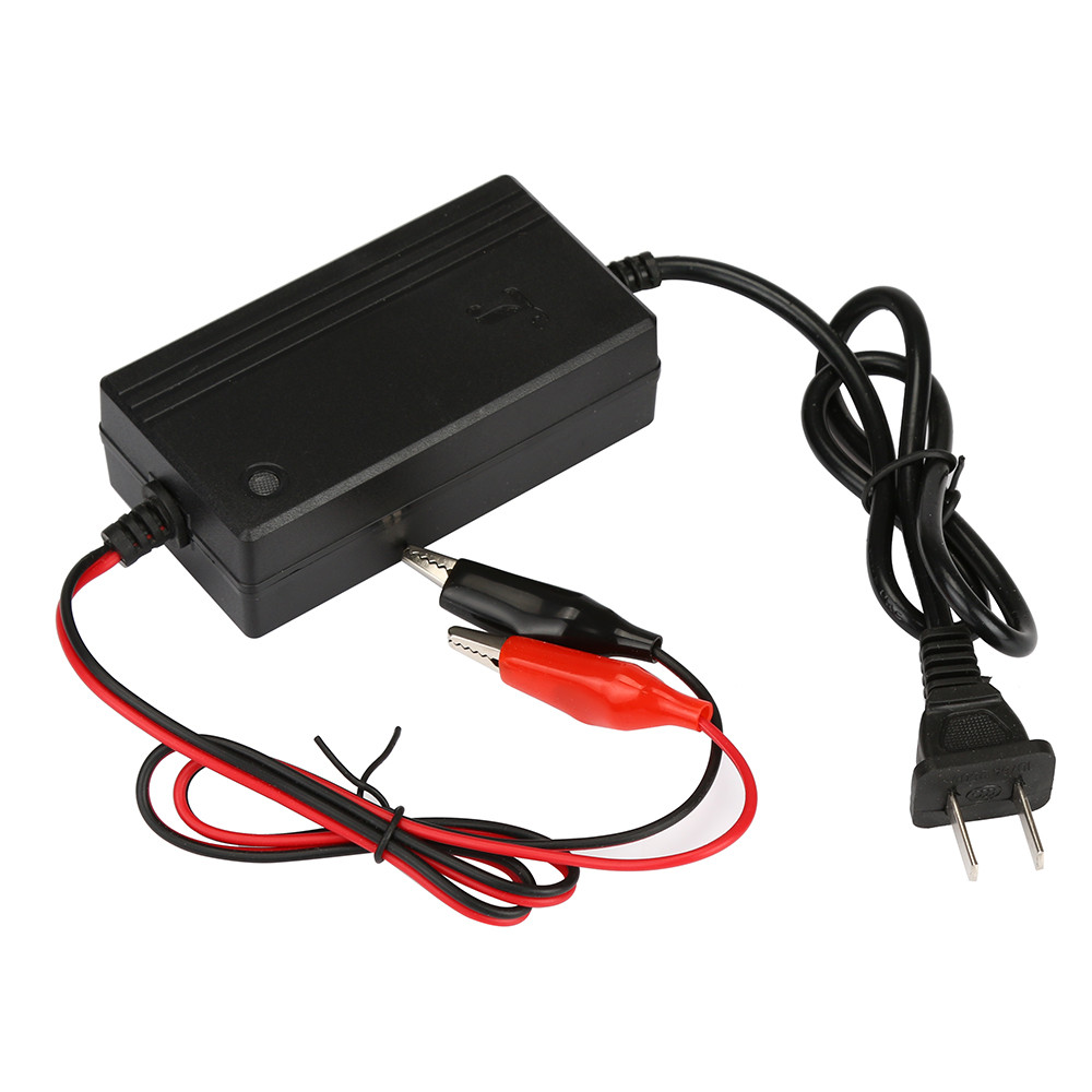 New Car Truck Motorcycle ATV 12V Smart Compact Battery Charger Tender Maintainer
