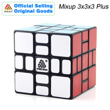 WitEden Mixup 3x3x3 Plus Magic Cube 3x3 Cubo Magico Professional Speed Neo Puzzle Antistress Fidget Toys For Children