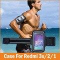 Ginásio de esportes correndo fundas coque capa para xiaomi redmi 3 s prime caso 5.0 redmi 2 2a 1 jogging arm band telefone à prova d' água sacos