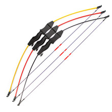 Professional 15 lb recurve bow wooden archery outdoor shooting hunting practice sports children and arrow