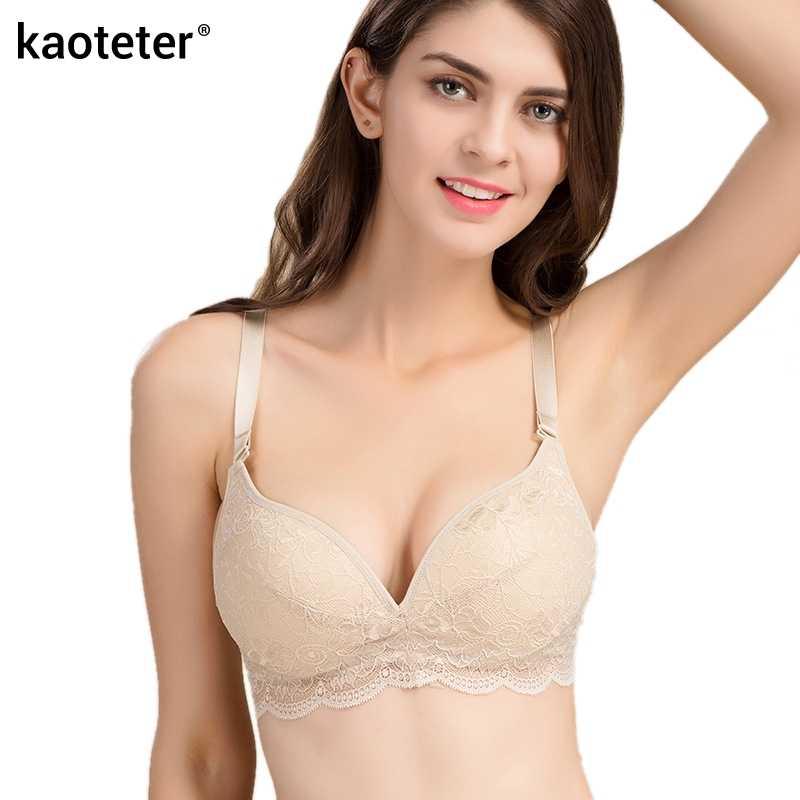 896295cd02 100% Pure Silk Women s Underwear Bras Women Thin 3 4 Cup Wire Free  Adjustable