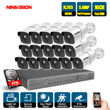 8CH 4K 16CH Network 5MP POE NVR Kit CCTV Security System 5.0MP IP Camera Outdoor IR Night Vision Surveillance Camera System 8channels hikvision poe nvr video surveillance kits with 4mp ip camera network security night vision cctv security system kits