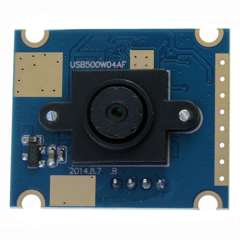 5megapixel High Resolution CMOS OV5640 60 degree fixed lens 25*30mm mini HD Usb Camera Module for Android/Linux/Windows/MAC OS