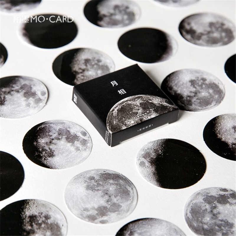 45 шт./компл. Moon memo pad Стикеры для дневника пакет разместил его Kawaii планировщик для скрапбукинга Канцтовары Escolar школьные принадлежности