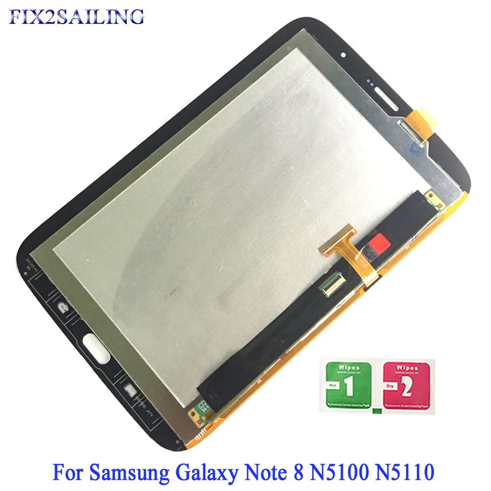LCD Display For Samsung Galaxy Note 8.0 N5100 N5110 GT-N5100 Panel Module Touch Screen Digitizer Sensor Assembly N5100 N5110 LCDLCD Display For Samsung Galaxy Note 8.0 N5100 N5110 GT-N5100 Panel Module Touch Screen Digitizer Sensor Assembly N5100 N5110 LCD