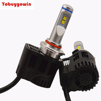 2Pcs H15 Car PHILIPSMZ LED HeadLight DRL Kit Bulb High Low Lamp 110W 10400lm 6000K Canbus